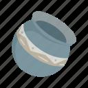 container, furniture, jar, jug, pot, pottery, vase