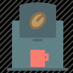 coffee, cup, ecspresso, machine icon