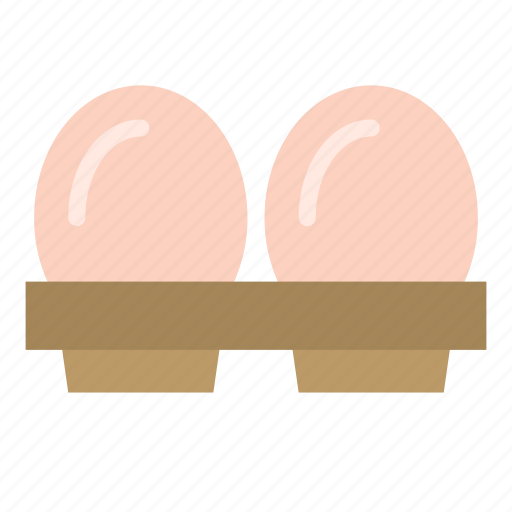 cartons, container, eggs, food icon