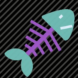 bone, consome, fish, soup, stock icon