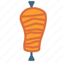 fast, food, kebab, meat icon