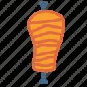 fast, food, kebab, meat icon