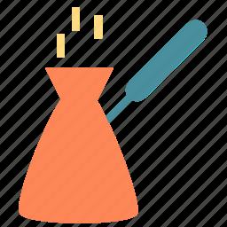 coffee, kettle, pot icon
