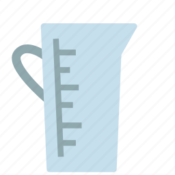 bowl, container, cup, measuring icon