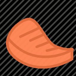 food, meat, steak icon