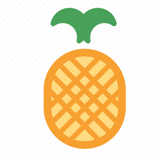 food, fruit, healthy, pineapple, sweet icon