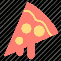 food, italian, pizza, slice icon