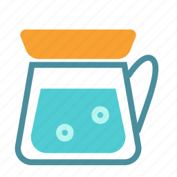 container, drink, kettle, tea icon