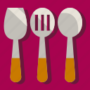 chef, cook, cooking, kitchen, restaurant, spatula icon