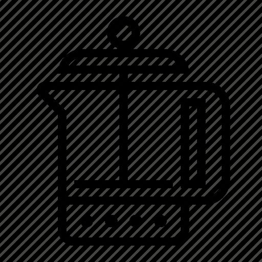 coffee, food, french, kitchen, press icon