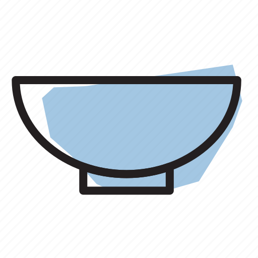 bowl, cooking, kitchen, prep icon