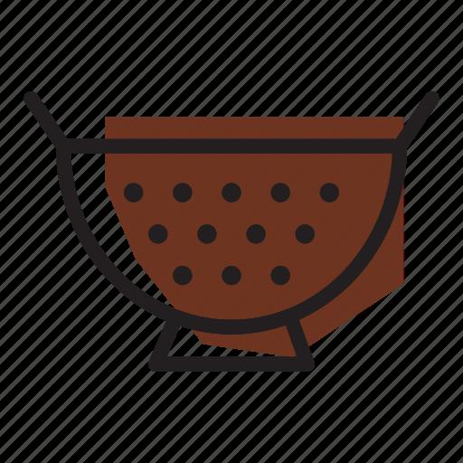 colander, pasta, strainer icon