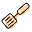 flipper, kitchen, spatula icon