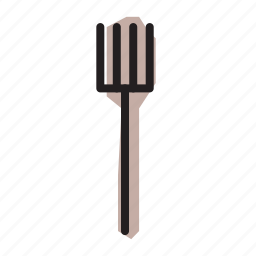 fork, utensil icon