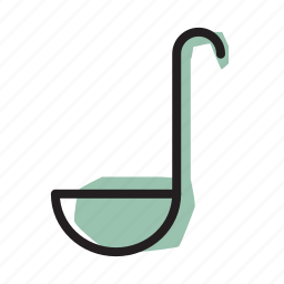 cooking, kitchen, ladle, soup icon