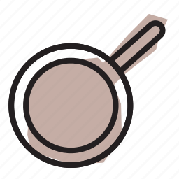 fry, frying, pan, sauce icon