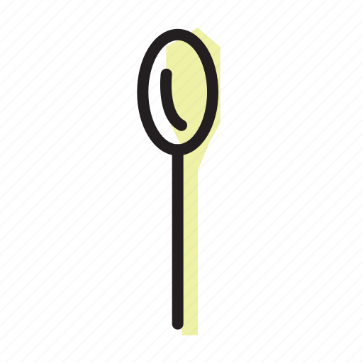 cooking, cutlery, eating, spoon icon
