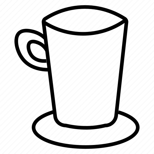 coffee cup, kitchen item, tea cup, tumbler, utensil icon