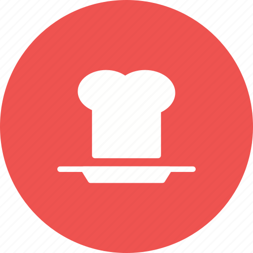 chef, cooked, food, hat, plate, restaurant, spoon icon