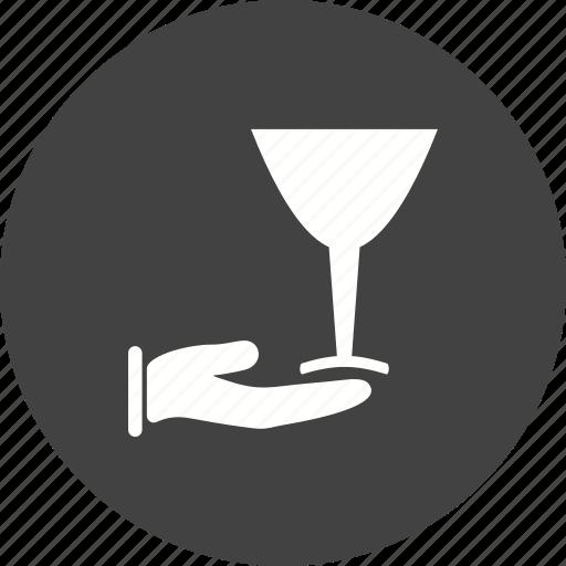 Champagne, luxury, restaurant, serving, waiter, wine icon - Download on Iconfinder