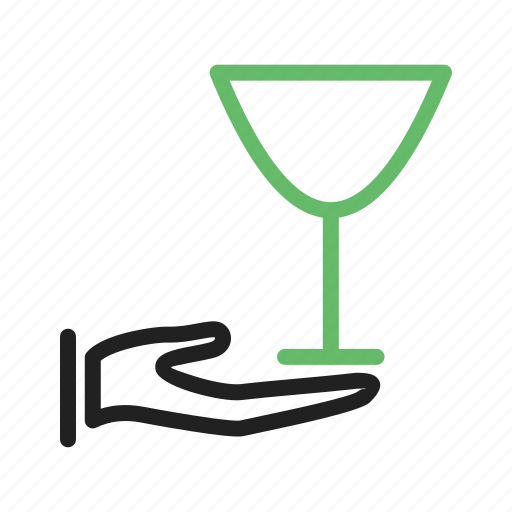Champagne, luxury, restaurant, serving, waiter, wine icon - Download on Iconfinder