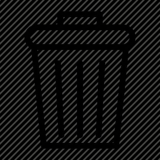 basket, bin, delete, garbage, trash icon