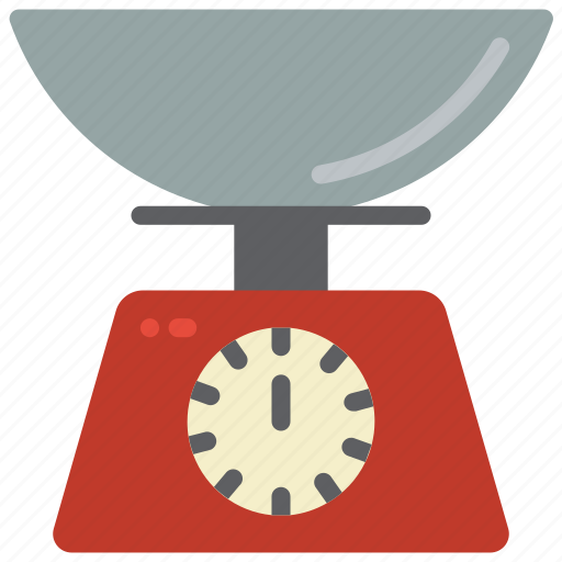 baking, cooking, kitchen, objects, scales, utilities, weigh icon