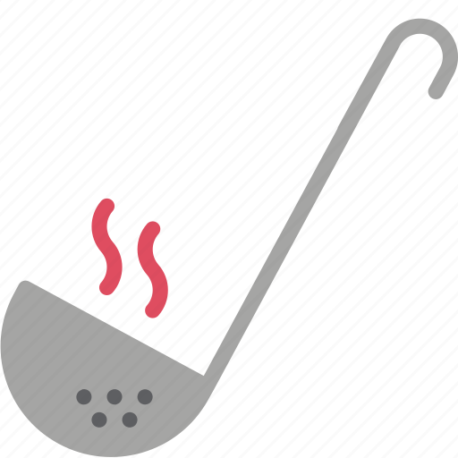 baking, cooking, kitchen, ladle, serving, utilities icon