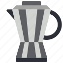 beverage, cafe, coffee, drink, hot, kitchen, percolator icon