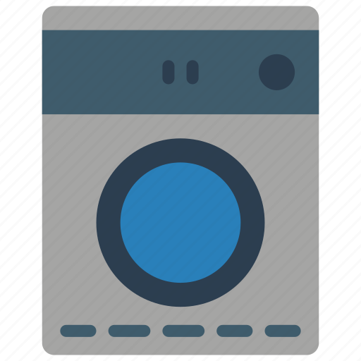 appliance, clean, clothes, dry, dryer, kitchen, tumble icon