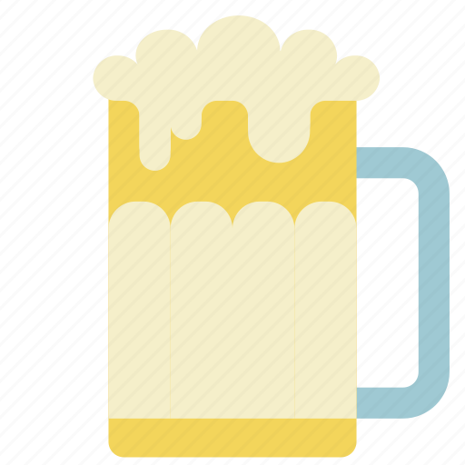 ale, beer, drink, glass, kitchen, lager, pint icon