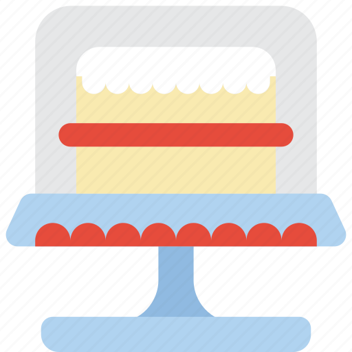 baking, cake, cooking, desert, kitchen, stand, utilities icon