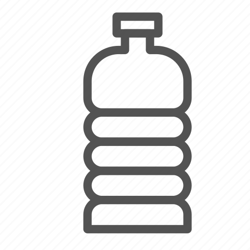 bottle, container, water icon