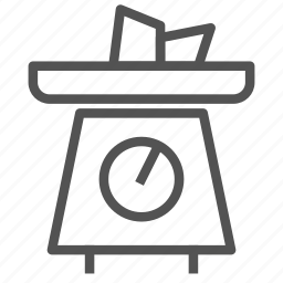 equipment, food, machine, scale, weighing icon
