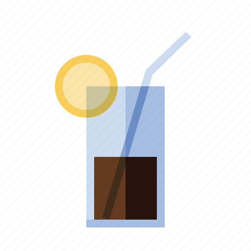 alcohol, booze, cocktail, drink, food, iced tea, lemon icon