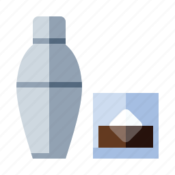 alcohol, booze, cocktail, food, mixed drink, mixer, shaker icon