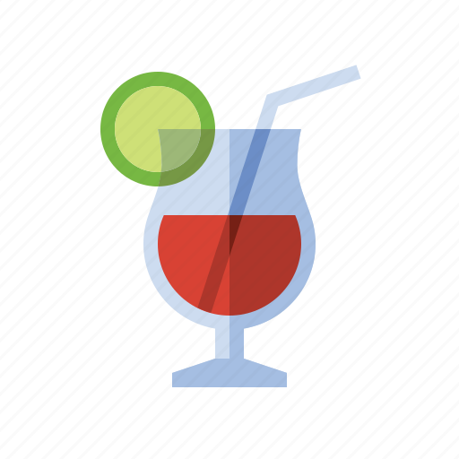 alcohol, booze, cocktail, drink, food, fruity drink, tropical drink icon