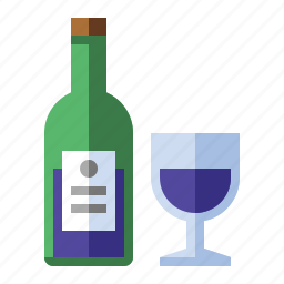 alcohol, booze, bottle, drink, food, wine icon