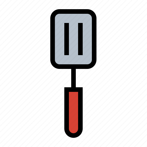 food, fry, grill, kitchen, spatula, utensil icon