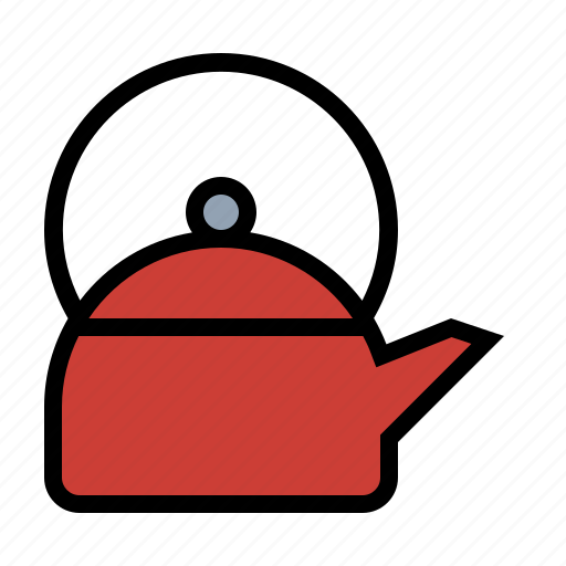 coffee, drink, food, kettle, kitchen, tea, tea pot icon