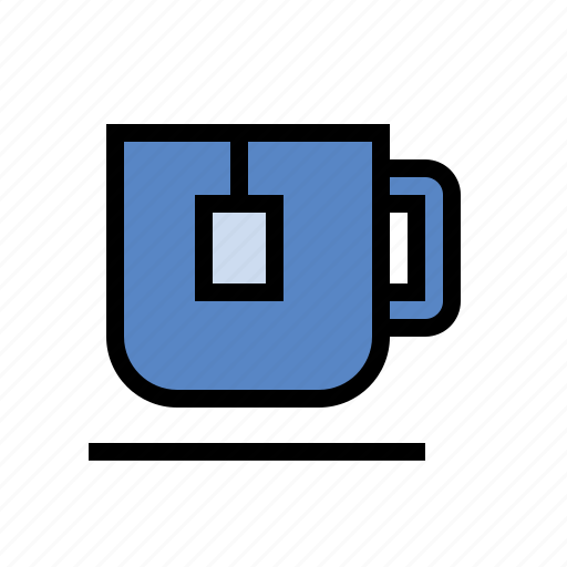 beverage, drink, food, mug, tea, tea bag icon