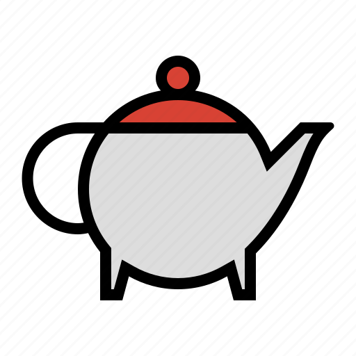coffee, drink, food, kettle, pot, tea pot icon