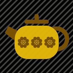 accessory, kitchen, kitchenware, retro, tea, teapot, vintage icon
