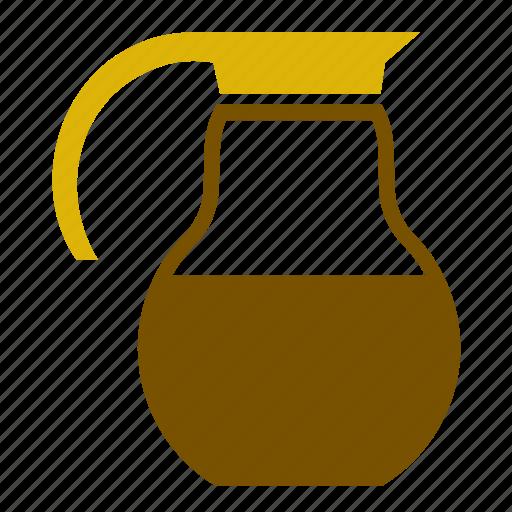 accessory, coffee, jug, kitchen, milk, retro, vintage icon