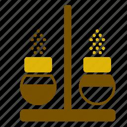 accessory, kitchen, kitchenware, pepper, retro, salt, shaker icon