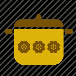 casserole, cooking, kitchen, kitchenware, pan, pot, saucepan icon