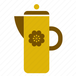 accessory, jar, jug, kitchen, kitchenware, pitcher, vintage icon