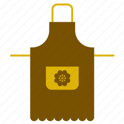 accessory, apron, equipment, kitchen, kitchenware, retro, vintage icon