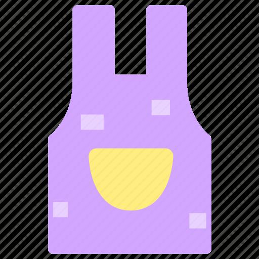 apron, cooking, kitchen, pinafore icon