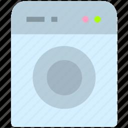 clothes, clothing, washing, washing machine icon